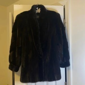 Luxury Jordan Marsh Mink Fur Coat